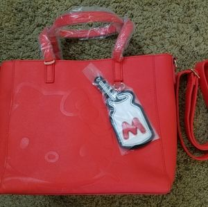 New Loungefly Loves Hello Kitty Crossbody Purse